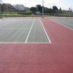 Double Tennis Court Markings