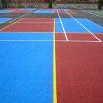 Multi Game Sports Court Marking