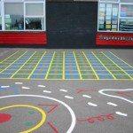 Playground Markings Numbers