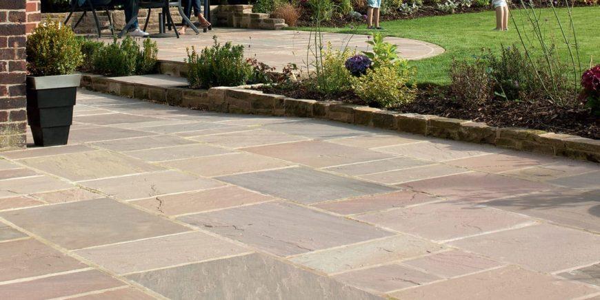 Indian sandstone patios