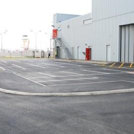 Car park construction – Virgin Atlantic