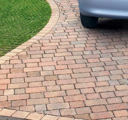 Drivesett Tegula priora permeable block paving