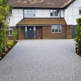 Resin Bound Driveway in Warlingham, Surrey