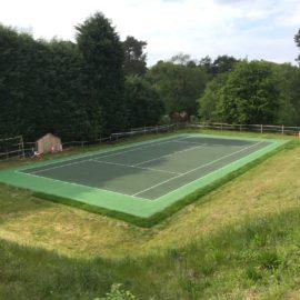 Tennis Court in Blackheath, Surrey