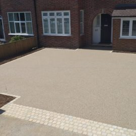 Resin Bound Driveway in Kingston-upon-Thames