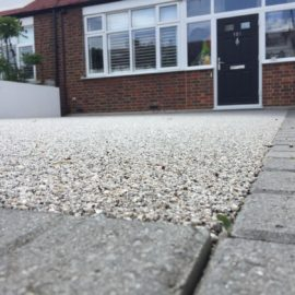 Resin Bound Driveway in South West London