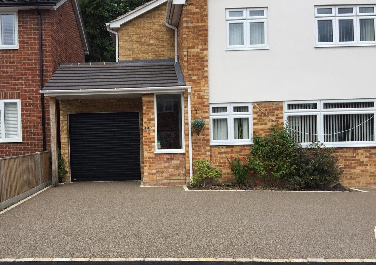 Resin Bound Driveway in Windlesham, Surrey