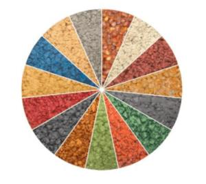 Coloured Tarmac