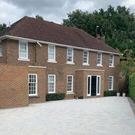 Block Paved Driveway in Cobham, Surrey
