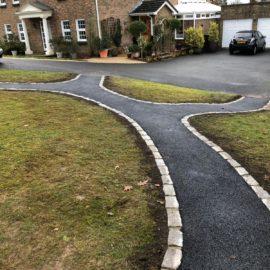 Tarmac Pathways in Cobham, Surrey