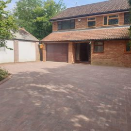 Block Paved Driveway in Esher, Surrey