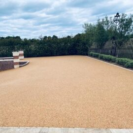 Resin bound driveway in East Molesey, Surrey