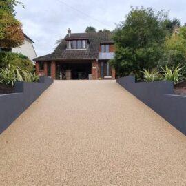 Resin Bound Driveway in East Horsley, Surrey