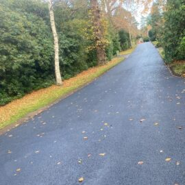 Tarmac Roadway in Esher, Surrey.