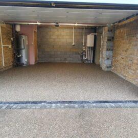 Resin Garage Area in Reigate, Surrey