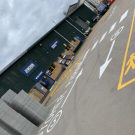 Line Marking in Stratford, London