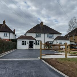 Tarmac and Block Paved Driveway in Bookham, Surrey