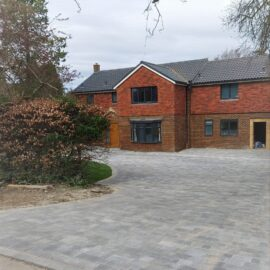 Block Paved Driveway in Fetcham, Surrey