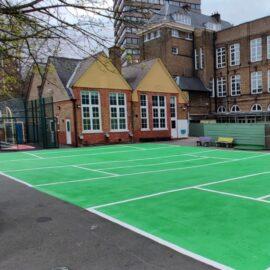 Line Marking in Battersea, London