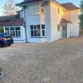 Tar and Shingle Driveway in Ashtead, Surrey