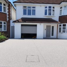 Resin Driveway in Thames Ditton, Surrey