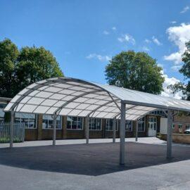 Tarmac Playground in Croydon, Surrey