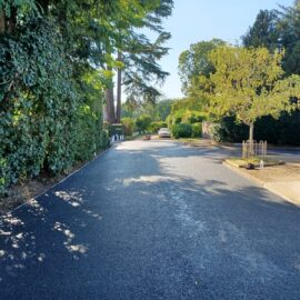 Tarmac Roadway in Staines, Surrey.