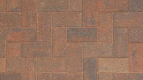 Driveline 50 block paving brindle