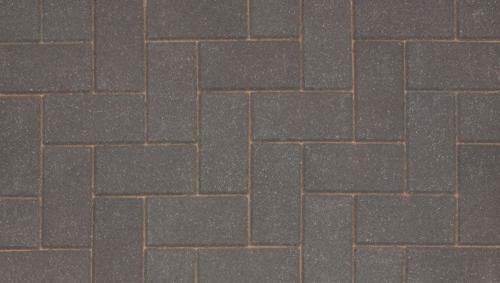 Driveline 50 block paving charcoal